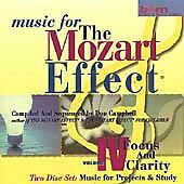 Music for the Mozart Effect: Vol. 4, Focus and Clarity: Music for Pro (CD,...