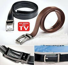 NEW Leather Belt for Men Black or Brown As Seen on TV SP