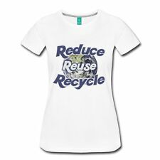 Earth Day Reduce Reuse Recycle Women's Women's Premium T-Shirt by Spreadshirt™