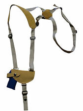 NEW Barsony Natural Tan Leather Shoulder Holster Sig, Walther 380 Ultra-Comp 9mm