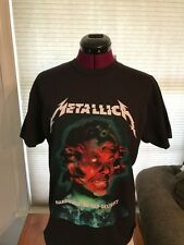 NEW NWT METALLICA HARDWIRED To Self Destruct Album Cover COTTON BLACK T-Shirt