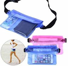 Waterproof Bag Underwater Pouch Waist Pack Swimming Dry Case For Cell Phone SP