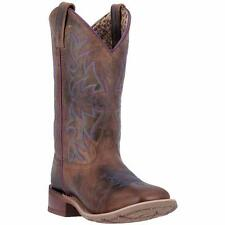 Laredo Western Womens Boots Ellery Embroidered Rust Brown 5654
