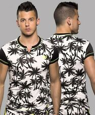 NEW Men's ANDREW CHRISTIAN PALM CLIP TEE 10093 T-shirt TOP M-XL -UK STORE