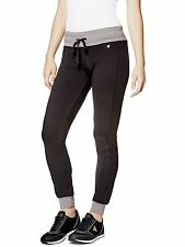 GUESS Pants Womens Zoya Quilted Skinny Leisure Track Pants S or M Black NWT
