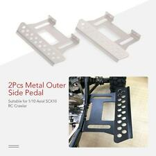 2Pcs Outer Side Pedal Plate for 1/10 Axial SCX10 RC Rock Crawler Parts X1G9