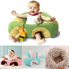 Cotton Toddlers Training Seat Baby Safety Sofa Dining Chair Learn to Sit Stool