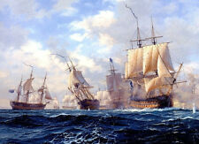 Best gift Ship Sailing Oil painting Art wall Picture HD Printed on canvas FC293