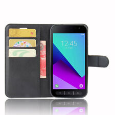 Luxury Wallet Flip Stand PU Leather Phone Case Cover For Samsung Galaxy Xcover 4