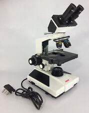 MIKO||40X-1000X LED Lab Compound Microscope with 3D Two-Layer Mechanical Stage