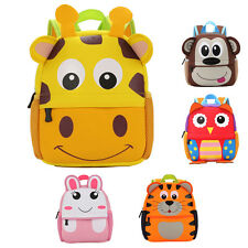 Cute Kid Toddler Backpack Kindergarten Schoolbag 3D Cartoon Animal Bag New Style