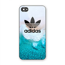 Best New Adidas Ocean Wave Print Hard Plastic Case For iPhone 5s 6 6s 7 8 (Plus)