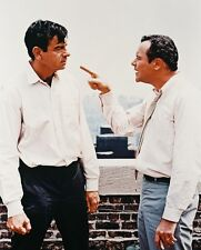 Jack Lemmon and Walter Matthau Movie Poster or Photo on Rooftop the Odd Couple