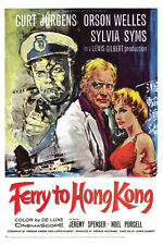 Ferry to Hong Kong Curd J??rgens Sylvia Syms Orson Welles Movie Poster or Photo
