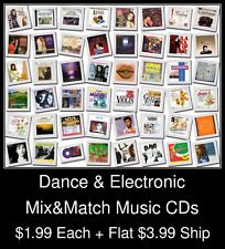 Dance & Electronic(1) - Mix&Match Music CDs @ $1.99/ea + $3.99 flat ship