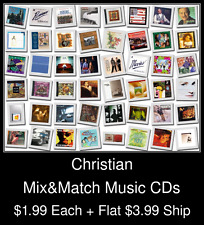 Christian(1) - Mix&Match Music CDs @ $1.99/ea + $3.99 flat ship