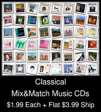 Classical(2) - Mix&Match Music CDs @ $1.99/ea + $3.99 flat ship