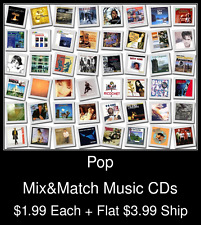 Pop(4) - Mix&Match Music CDs @ $1.99/ea + $3.99 flat ship