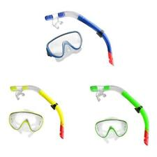 Swimming Snorkeling Gear Scuba Diving Goggles Mask & Breathing Tube Snorkel Set