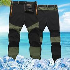 L-4XL Waterproof Outdoor Hiking Climbing Combat Trousers Tactical Cargo Pants