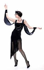 Glamour Flapper French Kiss Costume Adult Women's Party Halloween Theater
