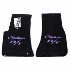 Dodge Challenger Classic R/T Floor Mats - Scat Pack - R/T Plus Shaker - Purple