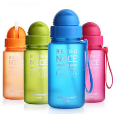 Baby Water Bottle with Straw Portable Mini Drinking Bottle Cups Baby Juice Mugs