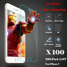 Wholesale 9H Tempered Glass HD Screen Protector Film for Apple iPhone 7/7 Plus