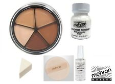 Mehron Tattoo Pro Cover Wheel, High Coverage, Long Lasting  - SETS AVAILABLE