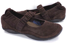 DANSKO Chrissy Brown Suede Ballet Flats Comfort Shoe Women's 40 US Size 9.5 / 10