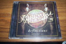 Farewell to Freeway - Definitions (CD 2008) METAL, ROCK