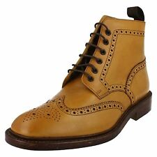 Mens Loake Lace Up Chelsea Boots - Burford 2