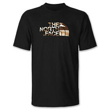 The North Face Half Dome T-Shirt Black/Sand Camo Men's Small Large BNWT!