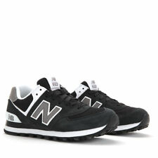 New Balance Men's 574 Core Extra Wide Running Shoes M574SKW Black/Grey/White