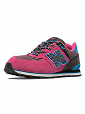 New Balance Girls' 574 Outside In Sneakers KV574O7G Pink/Light Blue/Black
