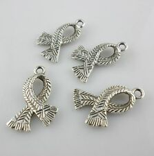 Tibetan Silver Scarf  Charms Crafts Pendants Jewelry Findings Making 16x24mm