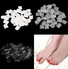 Acrylic Foot Decor Artificial False Nails Fake Sticker Nail Art 500 Pcs