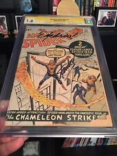 Amazing Spider-Man #1 - 1.8 SS CGC - Stan Lee signed & remarked with Excelsior!