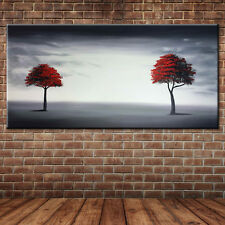 Trees Hand Painted Oil Painting Modern Canvas Art Landscape Pictures No Frame