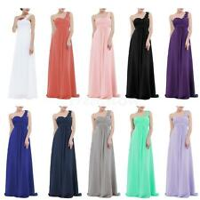 Women Long Chiffon Dress Wedding Evening Gown Ball Party Bridesmaid Formal Prom