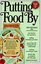 Putting Food By by Janet Greene, Ruth Hertzberg and Beatrice Vaughan (1992,...