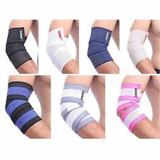 Weight Lifting Hand Wrist Arm Wraps Bandage Exercise Support Gym Cotton Straps