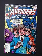 Avengers  #239 David Letterman Cover 1984  VF/NM  High Grade Marvel Comic