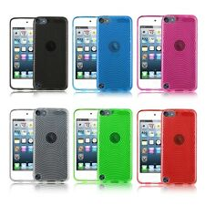 6G 6th Generation iPod Touch Ripple TPU Gel Protective Case Cover (2015 Model)