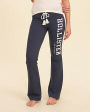 Abercrombie & Fitch – Hollister Womens Sweatpants Logo Flare Pants XS S Navy NWT