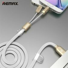 Best Micro Android iPhone Lightning USB Fast Charge Data Sync Magnet Flat Cable