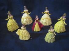 Disney-PRINCESS-BELLE-Cake-Toppers-Figurines-Figures-Beauty-and-The-Beast Lot 7