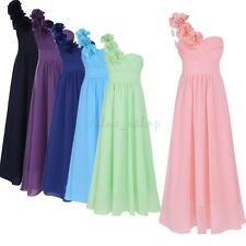 Girl Communion Party Prom Flower Princess Party Wedding Bridesmaid Pageant Dress