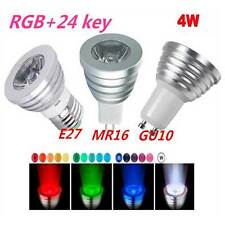 Energy-saving RGB LED Light E27 GU10 MR16 16 Colors Change Lamp Bulb + IR Remote