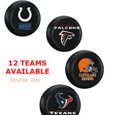 "NEW: 16"" NFL Football Sport Logo Teams Car Tire Cover for Jeeps Trucks & SUV's"